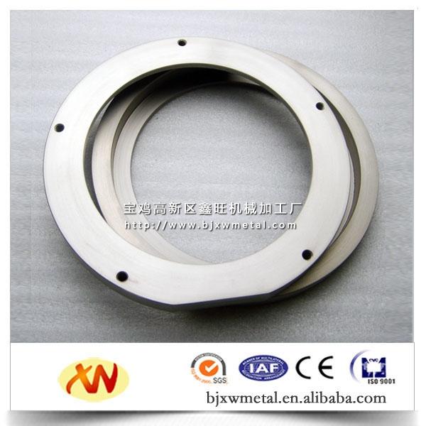 加工出售各种规格材质钛管件